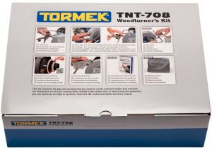 TNT-708 Kit dispositivi per la tornitura del legno