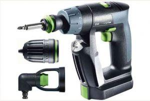 Cordless drill CXS Li 2,6-Set