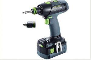 Cordless drill T 18+3 Li 5,2-Plus
