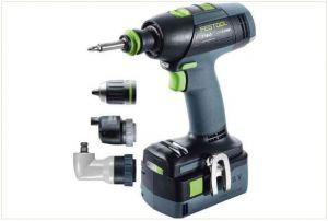 Cordless drill T 18+3 Li 5,2-Set