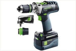 Cordless percussion drill QUADRIVE PDC 18/4 Li 5,2-Plus-SET