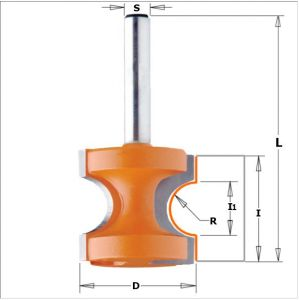 Bead &Bull Nose Router Bits 754.004.11
