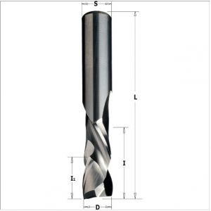 Solid carbide up & downcut spiral bits 190.050.11
