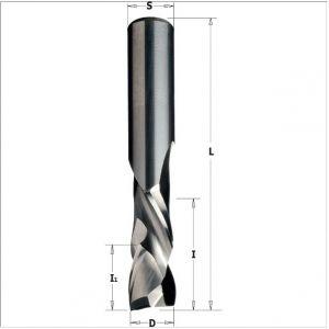 Solid carbide up & downcut spiral bits 190.080.11