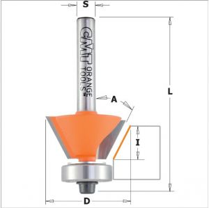 Combination trimmer router bits 909.260.11