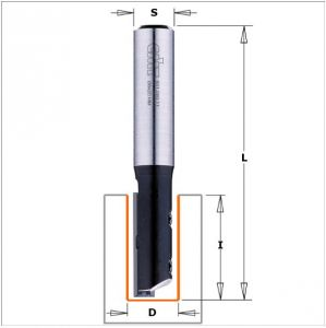 Straight router bits with insert knives 651.080.11