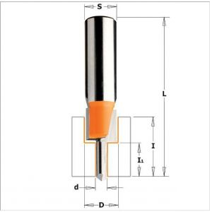Counterbored screw slot router bits 913.101.11