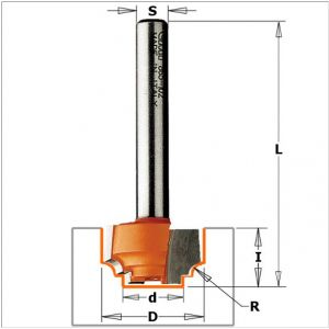 Decorative ogee router bits 965.102.11