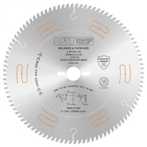 Industrial low noise & chrome coated circular saw blades with TCG grind 281.672.12M