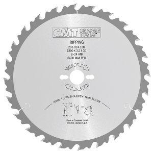 Industrial rip circular saw blades 285.036.18M