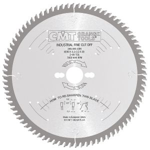 Industrial finishing circular saw blades 285.080.10M