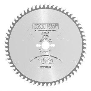 Industrial fine cut-off circular saw blades for two-sided melamine 287.034.06H