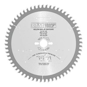 Industrial fine cut-off circular saw blades for two-sided melamine 287.061.12M