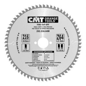 Fine cut-off circular saw blades, for portable machines 292.225.48M