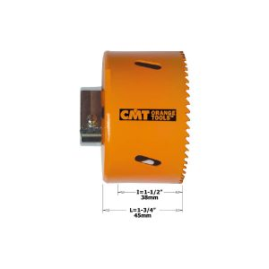 Seghe a tazza in bimetallo 551-025