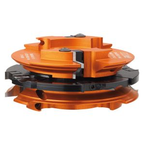 Profile and counter profile cutter head sets 694.015.35