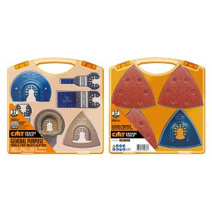 Set 37 pcs. Cutting Accessories for Oscillating Multi tool OMM-X37