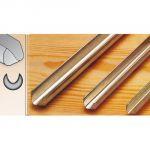 701010 Sgorbia speciale per scavare con affilatura ad unghia STUBAI 10 mm