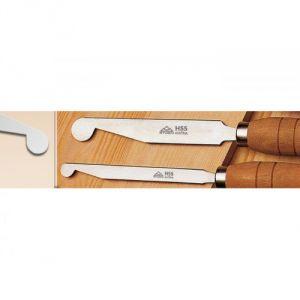 703015 STUBAI Scraper, round/side cut 15 mm
