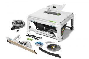 Sega circolare da banco con tecnologia SawStop TKS 80 EBS