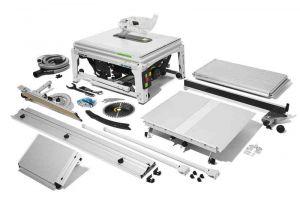 Sega circolare da banco con tecnologia SawStop TKS 80 EBS EBS-SET