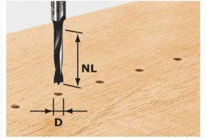 Dowel drill HW S8 D8/30 Z