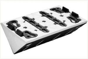 Rebate profile sanding pad SSH-STF-LS130-90 GR