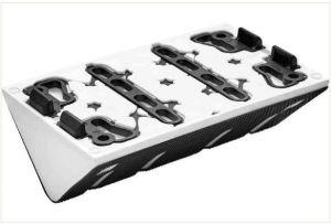 Flute profile sanding pad SSH-STF-LS130-R5KX