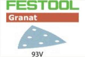 Foglio abrasivo STF V93/6 P80 GR/50 Granat