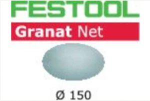 Abrasive net STF D150 P220 GR NET/50 Granat Net