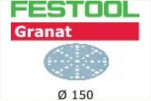 Sanding discs STF D150/48 P180 GR/10 Granat