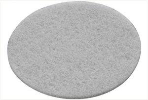 Polishing fleece STF D150 white VL/10 Vlies
