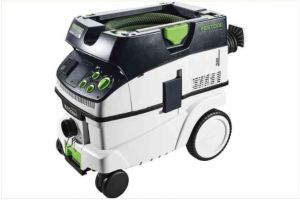 Mobile dust extractor CTM 26 E AC CLEANTEC