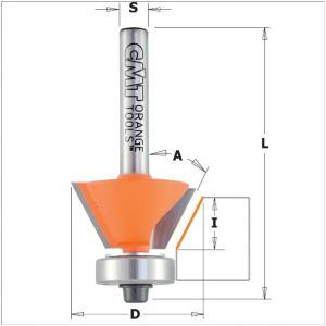 Combination trimmer router bits 710.260.11