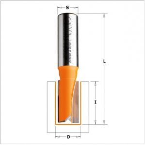 Straight router bits, short series 711.200.11