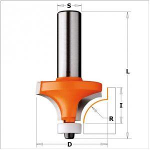 Frese a raggio concavo per materiali compositi 738.167.11