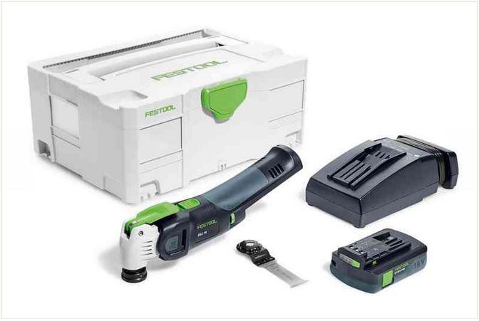 Utensile multifunzione a batteria osc li e compact vecturo